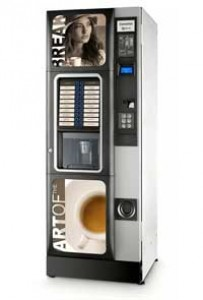 Торговый автомат CONCERTO ES7-R\IQ(кофейный)